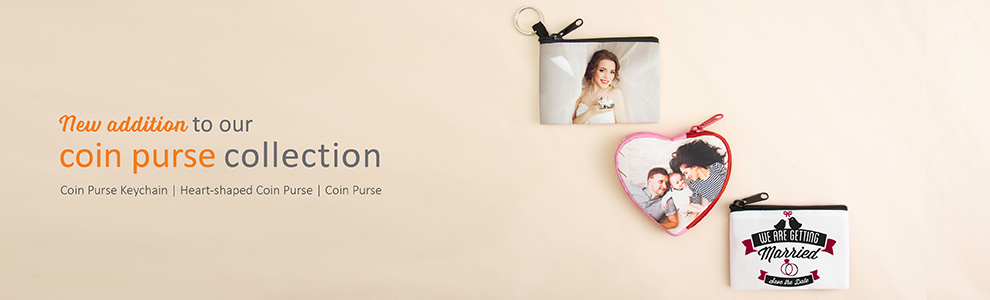 Personalised Coin Purses