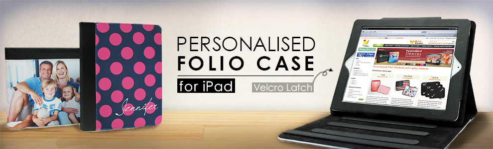 Personalised iPad Folio Cases