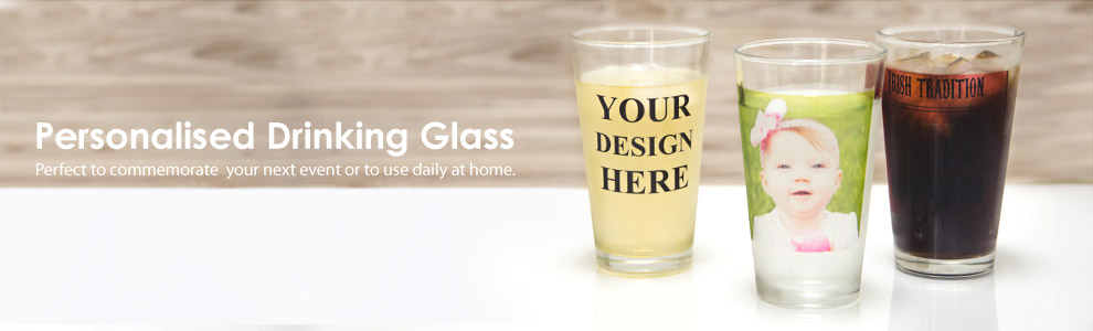 Personalised Drinking Glasses