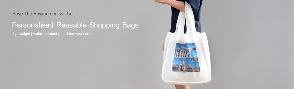 Personalised Reusable Shopping Bags