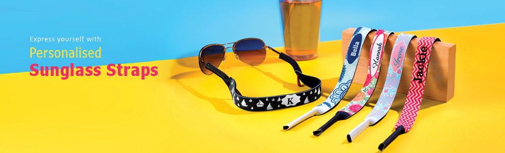 Personalised Sunglass Straps