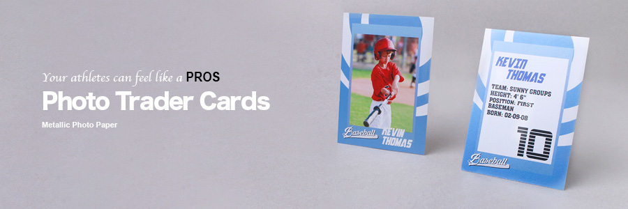Personalised Trader Cards