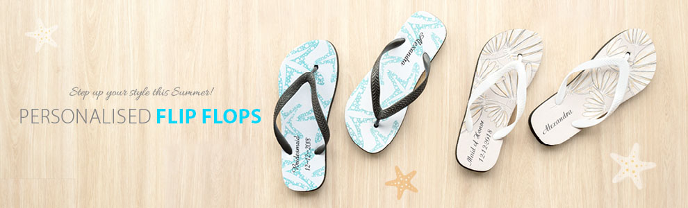 Personalised Flip Flops with Photo