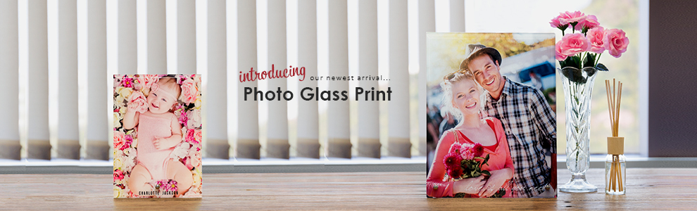 Personalised Photo Glass Prints