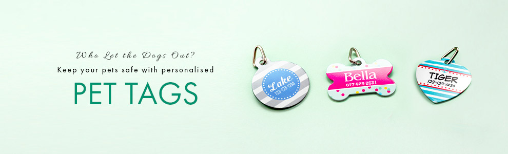 Personalised Pet Tags
