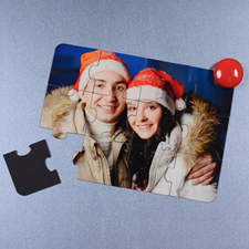 Magnetic Merry Christmas Invitation Puzzle, 5