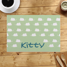 Personalised Kitty Kitchen Placemats