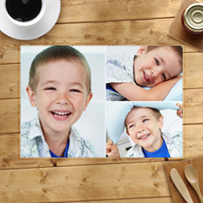 Personalised Placemat 3 Collage Placemats