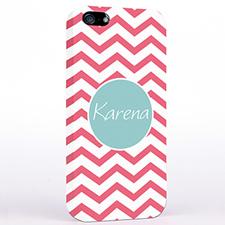 Personalised Carol Chevron iPhone Case