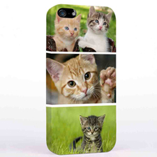 Personalised Three Collage iPhone 5 Case