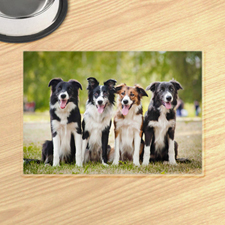 Personalised Photo Gallery Pet Meal Mat Placemats