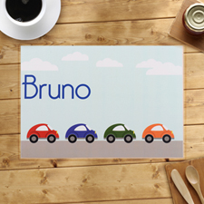Personalised Cars Placemats