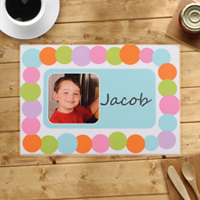 Personalised Alphabets Placemats