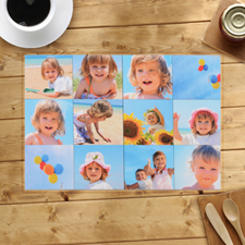 Personalised Twelve Photo Collage Placemats