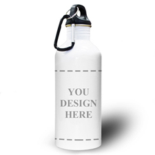 Personalised Photo Your Design Here Water Bottle
