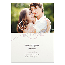 Personalised Love Party Invitation Card