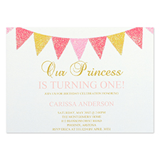 Personalised Party Time Party Invitation Card