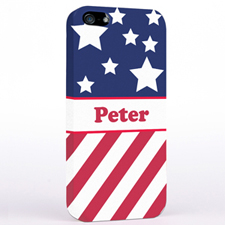 Personalised American Flag iPhone Case