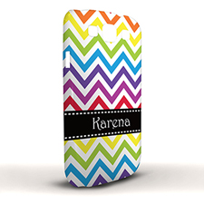 Design Your Own Colourful Chevron Samsung Phone Case Cover