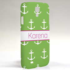 Custom Design Lime Anchors Samsung Phone Case