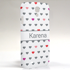 Custom Design Colourful Hearts Samsung Phone Case