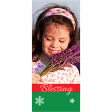 Personalised Blessing Lenticular Bookmark