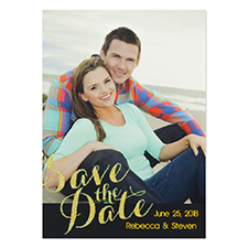 Personalised Perfect Match Save The Date Cards