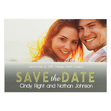 Personalised Perfect Together Save The Date Cards
