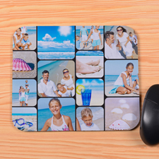 Personalised 14 Instagram Collage Mouse Pad