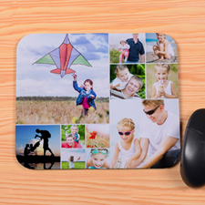 Personalised 12 Collage Mouse Pad