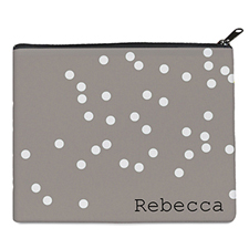Print Your Own White Natural Polka Dots Bag 8