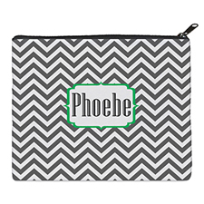 Print Your Own Grey Chevron Bag 8