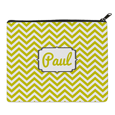 Print Your Own Yellow Chevron Bag 8