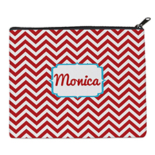 Print Your Own Red Chevron Bag 8