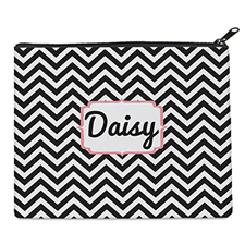 Print Your Own Black Chevron Bag 8