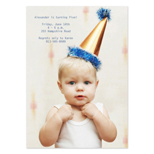 Personalised Full Photo Birthday Invitations, 5