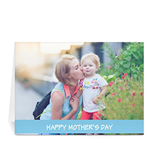 Personalised Mothers Day Photo Greeting Cards, 5