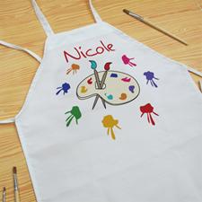 Little Painter Personalised Kids Apron