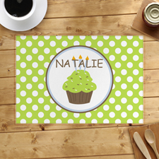 Personalised Boy Cupcake Placemats