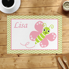 Personalised Butterfly Placemats