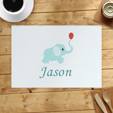 Personalised Elephant Placemats