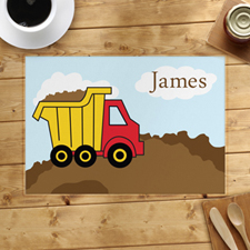 Personalised Truck Placemats