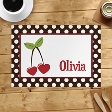 Personalised Cherry Placemats