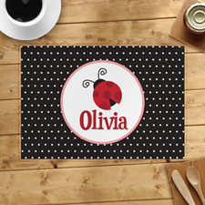 Personalised Beetle Placemats