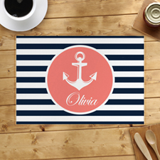 Personalised Anchor Placemats