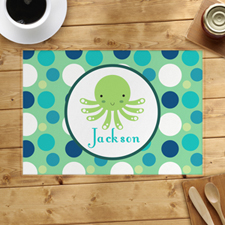 Personalised Octopus Placemats