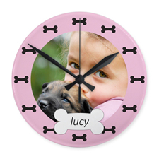My Best Friend Personalised Acrylic Clock Custom Printed
