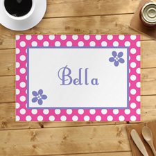 Personalised Flower Placemats