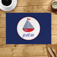 Personalised Ship Placemats
