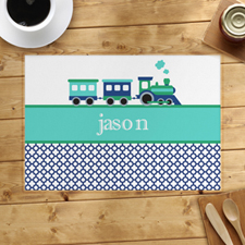 Personalised Train Placemats